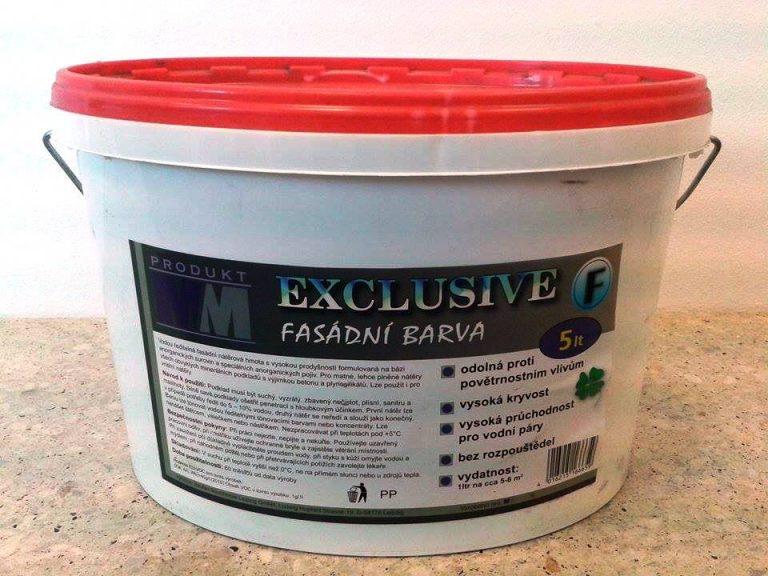 EXCLUSIVE – fasádní barva